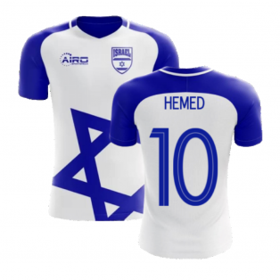 2020-2021 Israel Home Concept Football Shirt (Hemed 10) - Kids