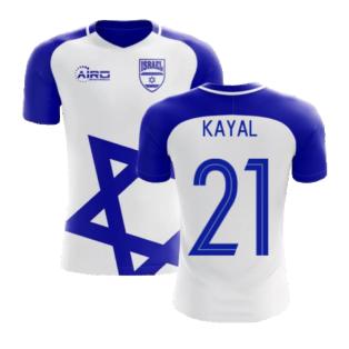 2020-2021 Israel Home Concept Football Shirt (Kayal 21) - Kids