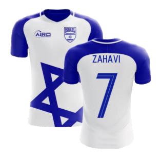 2020-2021 Israel Home Concept Football Shirt (Zahavi 7) - Kids