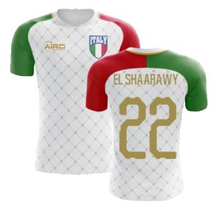 2020-2021 Italy Away Concept Football Shirt (El Shaarawy 22) - Kids