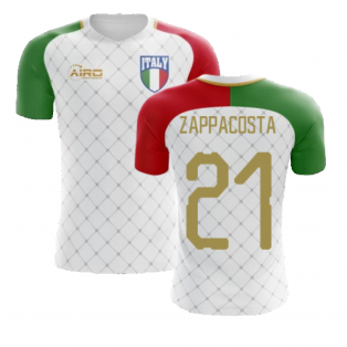 2020-2021 Italy Away Concept Football Shirt (Zappacosta 21) - Kids
