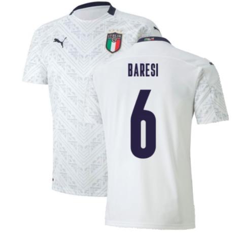 2020-2021 Italy Away Puma Football Shirt (Kids) (BARESI 6)