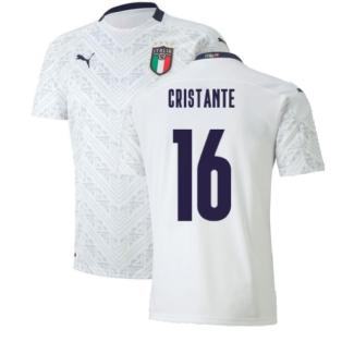 2020-2021 Italy Away Puma Football Shirt (Kids) (CRISTANTE 16)