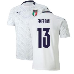 2020-2021 Italy Away Puma Football Shirt (Kids) (EMERSON 13)