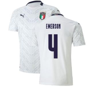 2020-2021 Italy Away Puma Football Shirt (Kids) (EMERSON 4)