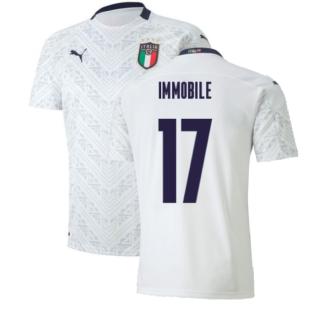 2020-2021 Italy Away Puma Football Shirt (Kids) (IMMOBILE 17)