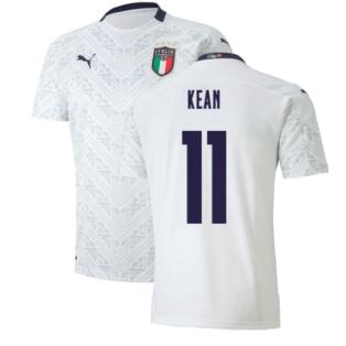 2020-2021 Italy Away Puma Football Shirt (Kids) (KEAN 11)