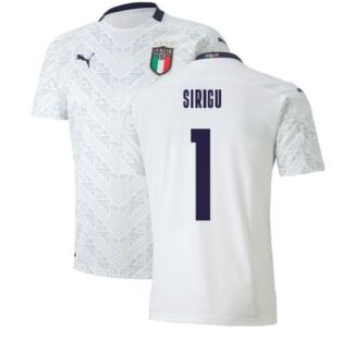 2020-2021 Italy Away Puma Football Shirt (Kids) (SIRIGU 1)