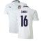 2020-2021 Italy Away Puma Football Shirt (Kids) (ZANIOLO 16)