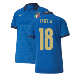 2020-2021 Italy Home Shirt - Womens (BARELLA 18)
