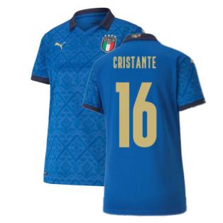 2020-2021 Italy Home Shirt - Womens (CRISTANTE 16)