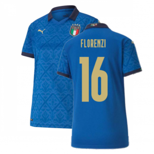 2020-2021 Italy Home Shirt - Womens (FLORENZI 16)