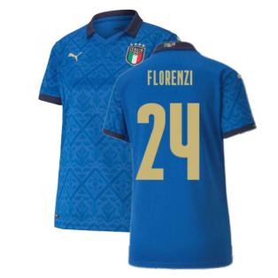 2020-2021 Italy Home Shirt - Womens (FLORENZI 24)