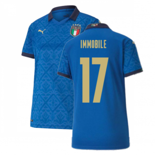 2020-2021 Italy Home Shirt - Womens (IMMOBILE 17)