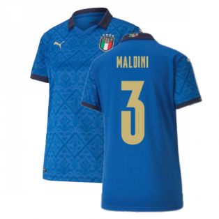 2020-2021 Italy Home Shirt - Womens (MALDINI 3)