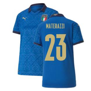 2020-2021 Italy Home Shirt - Womens (MATERAZZI 23)