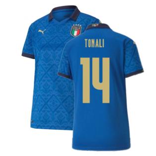 2020-2021 Italy Home Shirt - Womens (TONALI 14)