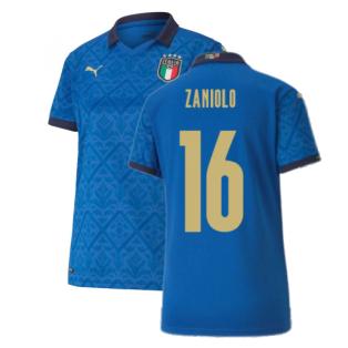 2020-2021 Italy Home Shirt - Womens (ZANIOLO 16)