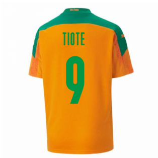 2020-2021 Ivory Coast Home Shirt (Kids) (TIOTE 9)