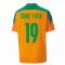 2020-2021 Ivory Coast Home Shirt (Kids) (TOURE YAYA 19)