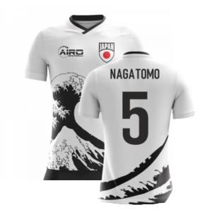2020-2021 Japan Airo Concept Away Shirt (Nagatomo 5)