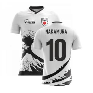 2020-2021 Japan Airo Concept Away Shirt (Nakamura 10)