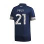 2020-2021 Juventus Adidas Away Football Shirt (PIRLO 21)