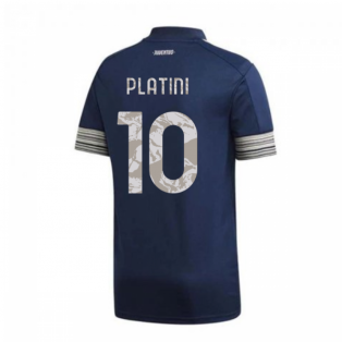 2020-2021 Juventus Adidas Away Football Shirt (PLATINI 10)