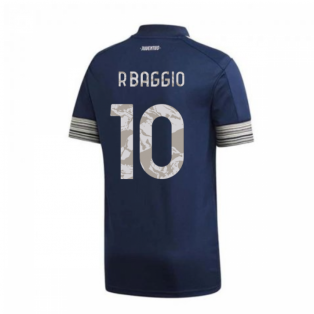 2020-2021 Juventus Adidas Away Football Shirt (R.BAGGIO 10)