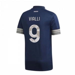 2020-2021 Juventus Adidas Away Football Shirt (VIALLI 9)