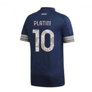 2020-2021 Juventus Adidas Away Shirt (Kids) (PLATINI 10)
