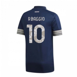 2020-2021 Juventus Adidas Away Shirt (Kids) (R.BAGGIO 10)