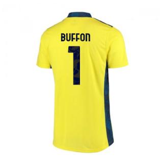 2020-2021 Juventus Adidas Goalkeeper Shirt (Kids) (BUFFON 1)