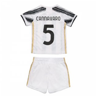 2020-2021 Juventus Adidas Home Baby Kit (CANNAVARO 5)