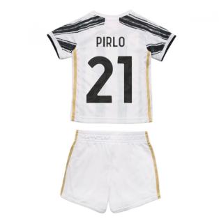2020-2021 Juventus Adidas Home Baby Kit (PIRLO 21)