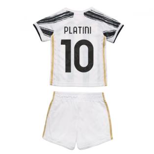 2020-2021 Juventus Adidas Home Baby Kit (PLATINI 10)