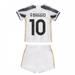 2020-2021 Juventus Adidas Home Baby Kit (R.BAGGIO 10)