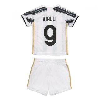 2020-2021 Juventus Adidas Home Baby Kit (VIALLI 9)