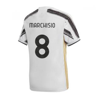 2020-2021 Juventus Adidas Home Football Shirt (MARCHISIO 8)