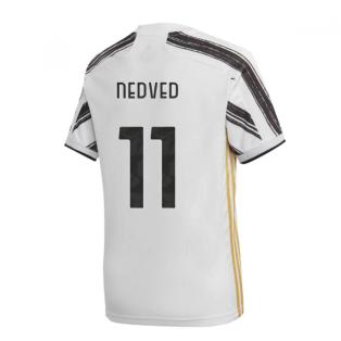 2020-2021 Juventus Adidas Home Football Shirt (NEDVED 11)