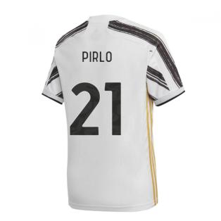 2020-2021 Juventus Adidas Home Football Shirt (PIRLO 21)