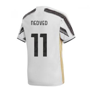 2020-2021 Juventus Adidas Home Shirt (Kids) (NEDVED 11)