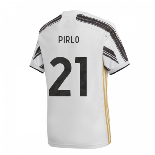 2020-2021 Juventus Adidas Home Shirt (Kids) (PIRLO 21)