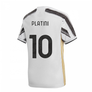 2020-2021 Juventus Adidas Home Shirt (Kids) (PLATINI 10)