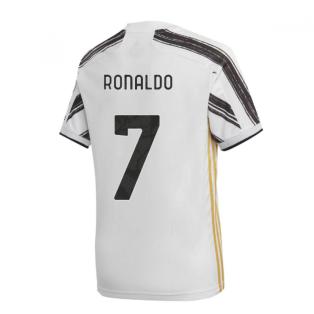 2020-2021 Juventus Adidas Home Shirt (Kids) (RONALDO 7)