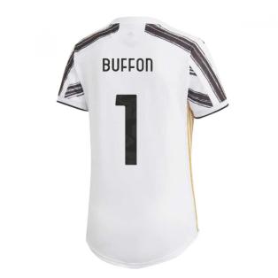 2020-2021 Juventus Adidas Home Womens Shirt (BUFFON 1)