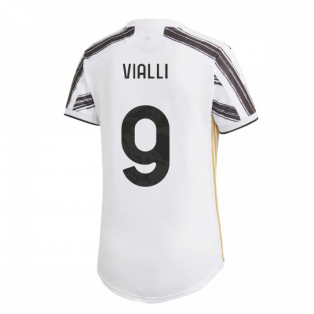 2020-2021 Juventus Adidas Home Womens Shirt (VIALLI 9)