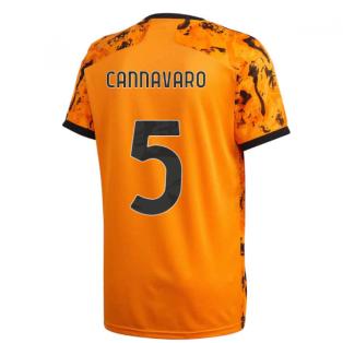 2020-2021 Juventus Adidas Third Shirt (Kids) (CANNAVARO 5)