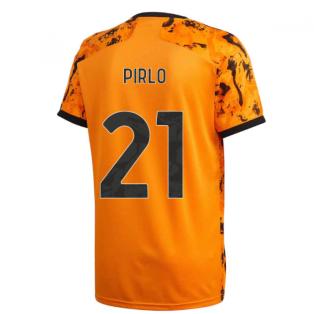 2020-2021 Juventus Adidas Third Shirt (Kids) (PIRLO 21)