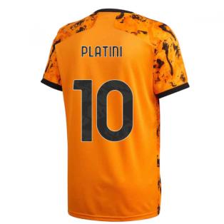 2020-2021 Juventus Adidas Third Shirt (Kids) (PLATINI 10)